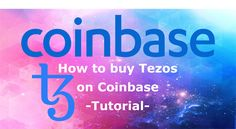 3 Easy steps to start trading the Tezos (XTZ) coin.- TUTORIAL - Buy Tezos (XTZ) cryptocurrency on Coinbase and Coinbase Pro using wire or credit card. Fiat Money, Buy Cryptocurrency, Order Book, Crypto Currencies, How To Get, Easy, Stuff To Buy