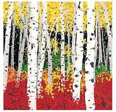 Birch Trees - Dana Heacock
