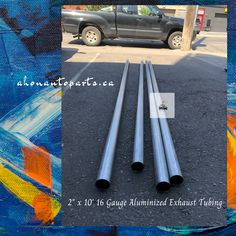 "16 Gauge Aluminized Exhaust Tubing-2""x10'"