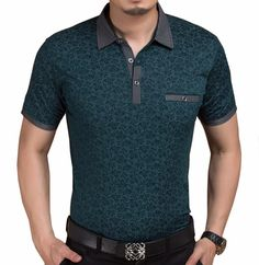 Men's Style Polo Shirts, Summer Short Sleeve High Quality