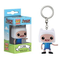 (affiliate link) Adventure Time Finn Pocket Pop! Vinyl Figure Key Chain