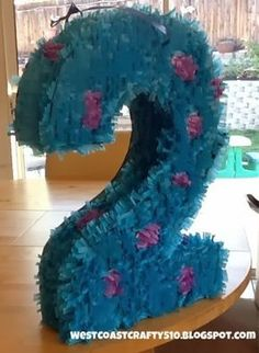 Bildergebnis für monsters inc pinatas Little Monster Birthday, Monster Birthday Parties, 2nd Birthday Parties, 1st Birthdays, Happy Birthday, Monster University Birthday, Monster Inc Party, Second Birthday Ideas, Rainbow Parties