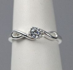 JewelryPalace Wedding Bands Rings CZ Engagement Rings Anniversary Promise Rings For Women 925 Sterling Silver X Infinity Cubic Zirconia CZ Ring Set Size 6 – Fine Jewelry & Collectibles Rose Gold Engagement Ring, Engagement Ring Settings, Solitaire Engagement, Infinity Ring Wedding, Wedding Rings, Infinity Ring Engagement, The Bling Ring, Pretty Rings, Ring Verlobung