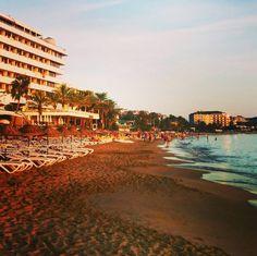 Sunset in Alanya Turkey. #beach #sunset #turkey #alanya #photography #photos #ig #instafollow #pics #holiday