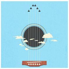 Guitar of the sky