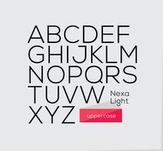 Nexa | Font | Free Download - UltraLinx