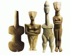 Ancient Greek Art, Ancient Aliens, Historical Artifacts, Ancient Artifacts, Paleolithic Art, Ancient Goddesses, Minoan, Mycenaean, Idole