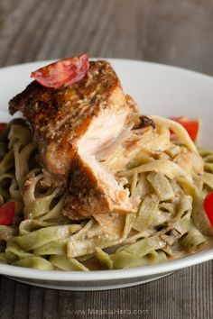 30 Minutes Pan-Fried Salmon in White Wine Sauce with Tagliatelle Pasta Recipe Make the <b>Pan-Fried Salmon in white wine sauce with Tagliatelle</b> on a weeknight when you are craving something different but utterly delicious. The …  http://www.masalaherb.com/2017/03/pan-fried-salmon-in-white-wine-sauce-with-tagliatelle-pasta.html
