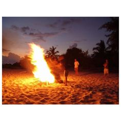 Maldives Photos > Black Pearl > Maldives Beach Bonfire ❤ liked on Polyvore featuring inspiring and pictures