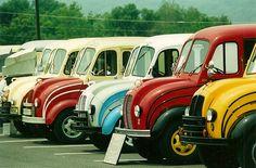 Divco Show Station Wagon, Antique Trucks, Antique Cars, Cool Trucks, Cool Cars, Classic Trucks, Classic Cars, Step Van, Cab Over