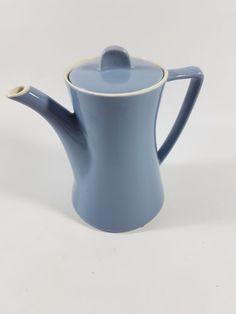 MELITTA-Minden-Kaffeekanne-Hellblau-Pastell-Waffelboden Minden, Teapots, Tea Set, Kettle, Vases, Scandinavian, Forget, Happiness, Tableware