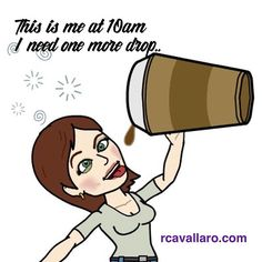 Ever feel like this #coffeelover #coffeetime