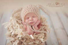 Bunnyrabbit newborn set baby bonnet hatbanny set от Fairyworldshop