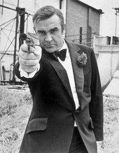 Sean Connery in his final time as James Bond in Diamonds Are Forever, 1971 Sean Connery James Bond, James Bond Girls, James Bond Movies, Casino Royale, I Movie, Movie Stars, Bond Series, Timothy Dalton, Scottish Actors