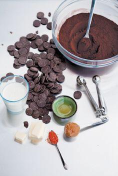 :: sweets & desserts :: DIY Chocolate: Maya's Dark Delicious Classic Truffles | Edible Feast via Edible Santa Barbara #ediblekitchen