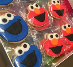 Hey, I found this really awesome Etsy listing at https://www.etsy.com/listing/256781252/12-sesame-street-elmo-cookie-monster