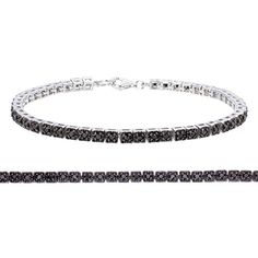 Sterling Silver Black Diamond Bracelet (1 CT) by Vir Jewels - See more at: http://blackdiamondgemstone.com/jewelry/bracelets/tennis/sterling-silver-black-diamond-bracelet-1-ct-com/#!prettyPhoto