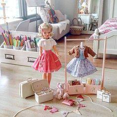 Sindy Doll, Doll Toys, Dolls Dolls, Vintage Girls, Vintage Toys, Tammy Doll, Barbie House, Retro Toys, Hello Dolly