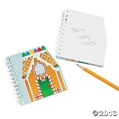 Gingerbread Spiral Notepads