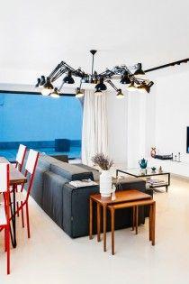 """În apartamentul lui Laurențiu am descoperit frumusețea expresiei """"la linie"""""""