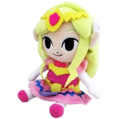 Princess Zelda Plush, first time I've seen this one, actually...