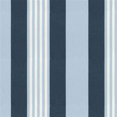 navy and light blue plaid fabric | Navy and Blue Stripe Fabric by the Yard | Carousel Designs