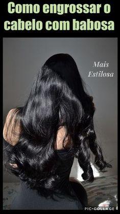 Como engrossar e encorpar o cabelo com babosa!✨