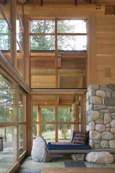 Indoor/Outdoor House Design Methow Valley WA |Natural Modern Architecture Firm
