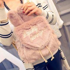 $25.80 (Buy here: https://alitems.com/g/1e8d114494ebda23ff8b16525dc3e8/?i=5&ulp=https%3A%2F%2Fwww.aliexpress.com%2Fitem%2Fbrand-Wego-Cute-Bunny-Ears-Backpack-Rabbit-Fur-Double-Shoulder-Bag-Mochila-School-Bags-For-Teenager%2F32707350832.html ) brand Wego Cute Bunny Ears Backpack Rabbit Fur Double Shoulder Bag Mochila School Bags For Teenager Girls Children Backpacks for just $25.80
