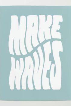 Mises En Page Design Graphique, Plakat Design, Blue Poster, Wave Art, Creative Logo, Creative Design, Grafik Design, New Wall, Wall Collage