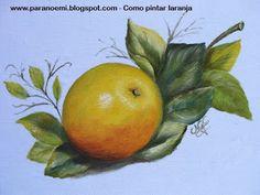 PARANOEMI: Como pintar laranja
