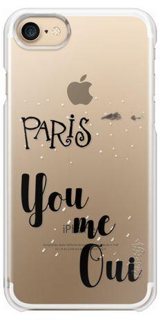 Casetify iPhone 7 Snap Case - You me Oui by Li Zamperini Art