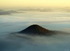 Foggy European Landscapes at Sunrise Photographed by Kilian Schönberger