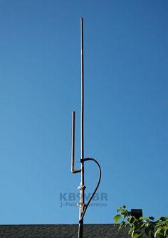 2 Meter Amateur Radio J-Pole Antenna | KB9VBR J-Pole Antennas