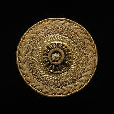 Ear-stud. Etruscan, c. 500 BC