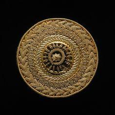 Ear-stud. Etruscan, c. 500 BC
