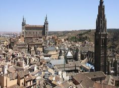 Toledo day trip. 92 each, includes transportation there and back from madrid and tour of toledo and el escorial.