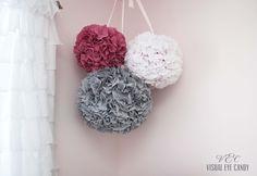 fabric pom poms how-to