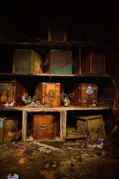 Abandoned Coffins~Creepyy!