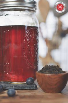 Blueberry & Earl Grey Tea liqueur recipe!