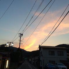 |||空 夕焼け 晴 素材として使用可||| June 30 2016 at 06:21PM ||| nagamel.tumblr.com