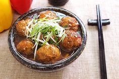 braised pork ball (lion's head) | Taiwanese food