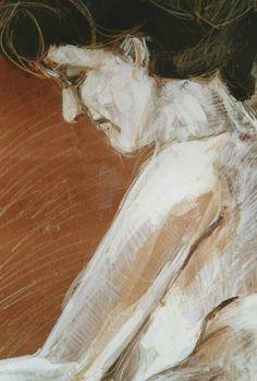 Acrilic, pencil,oil on paper. 100cm×70cm.