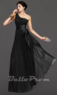 One Shoulder Grecian Bridesmaid/Prom Dress 2064