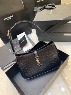 Ysl Saint Laurent new hobo shoulder bag croc Ysl Bag, Saint Laurent Bag, Cute Bags, Birkin, Hobo Bag, Everyday Fashion, Crocs, Hermes, Wallets
