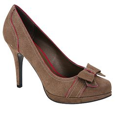 Limelight caprice pump in brown/pink. I just bought these and they are stupid cute. Also, this is my first original pin b/c I JUST figured out how to add them #blondAsianmoment
