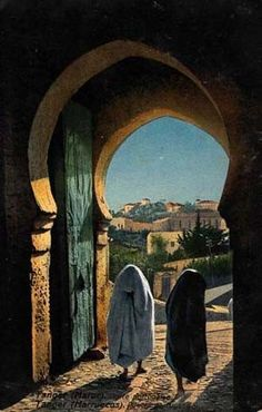 Bab (Porte) Portugaise 1890-95 Tangier Morocco, Arabian Art, Desert Tour, Perspective Art, Architecture Old, Countries Of The World, North Africa, Photos Du, Beautiful Horses