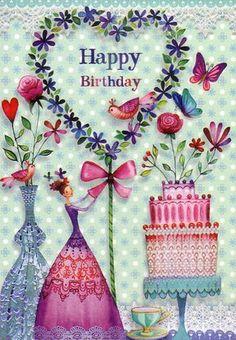 Happy Birthday Happy Birthday Wishes Happy Birthday Quotes Happy Birthday Messages From Birthday Birthday Wishes Greeting Cards, Happy Birthday Messages, Happy Birthday Quotes, Birthday Love, Happy Birthday Greetings, Romantic Birthday, Vintage Birthday, Husband Birthday, Card Birthday