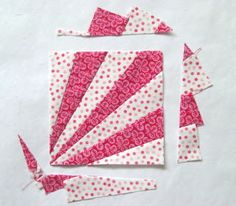 Tutorial: Karen Griska Quilts - quick tute on how to make fabulous fan blocks