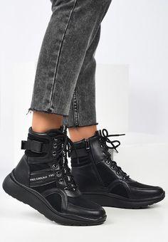 Sneakers High-Top Breda Negri